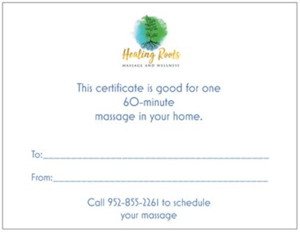 In Home Massage by Healing Roots Massage and Wellness