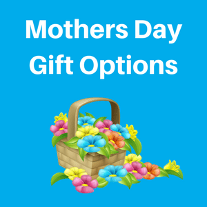 mothers day gift options graphic